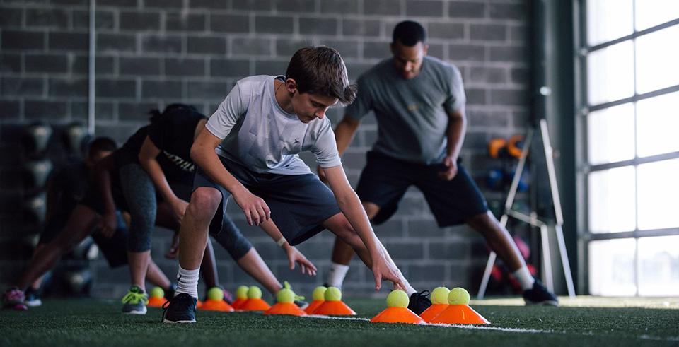 Беговые упражнения для футболистов