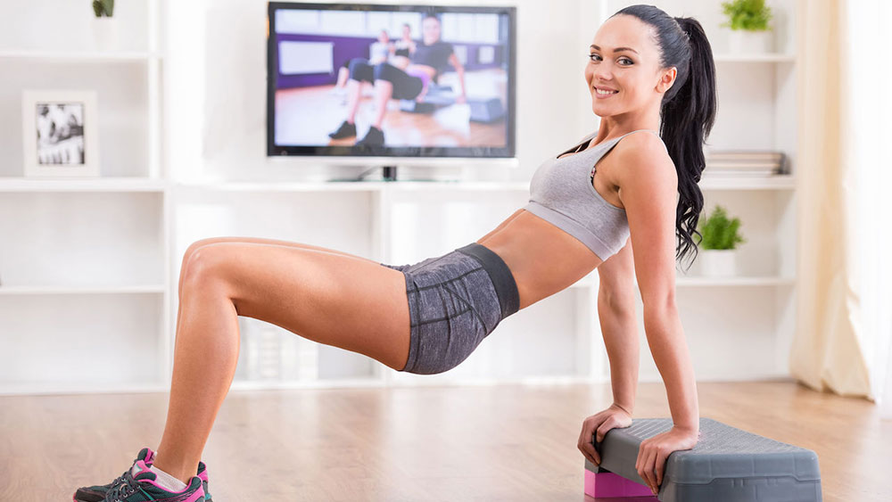 Домашние занятия для похудения видео