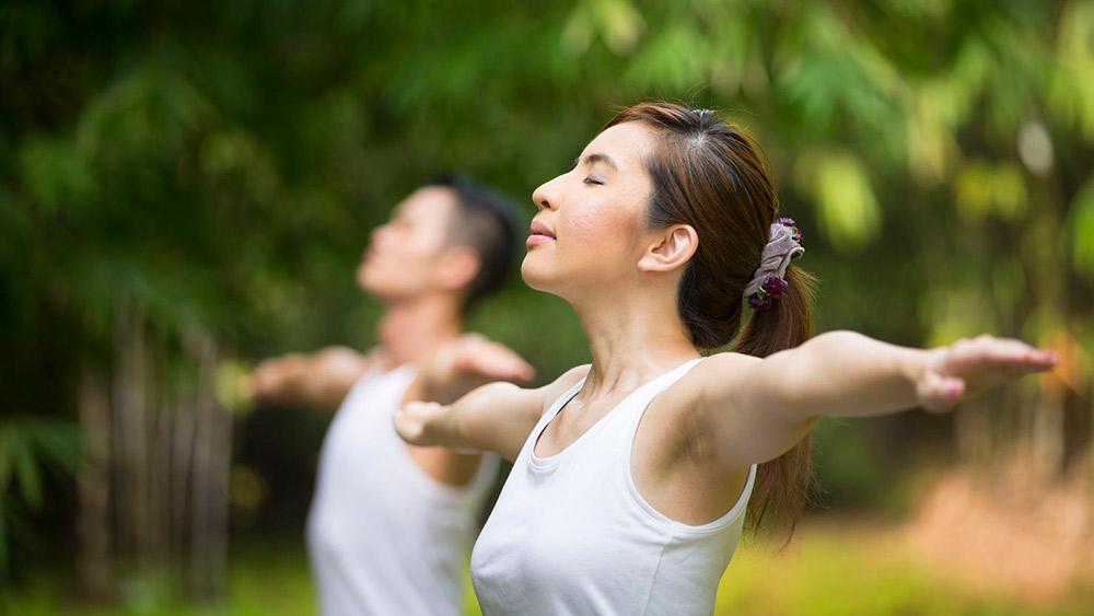 Концетрация во время упражнений