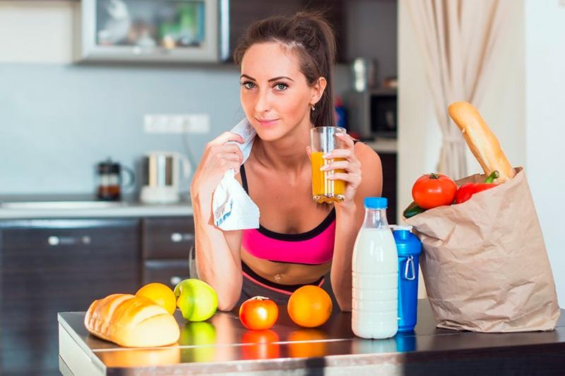 Сок содержит гликоген