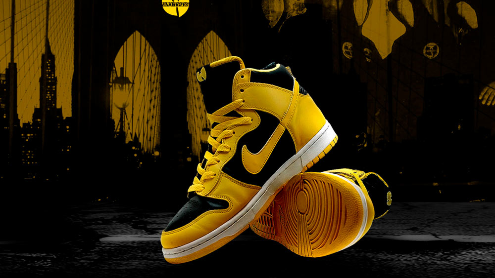 Nike Dunk High LE (Wu-Tang)