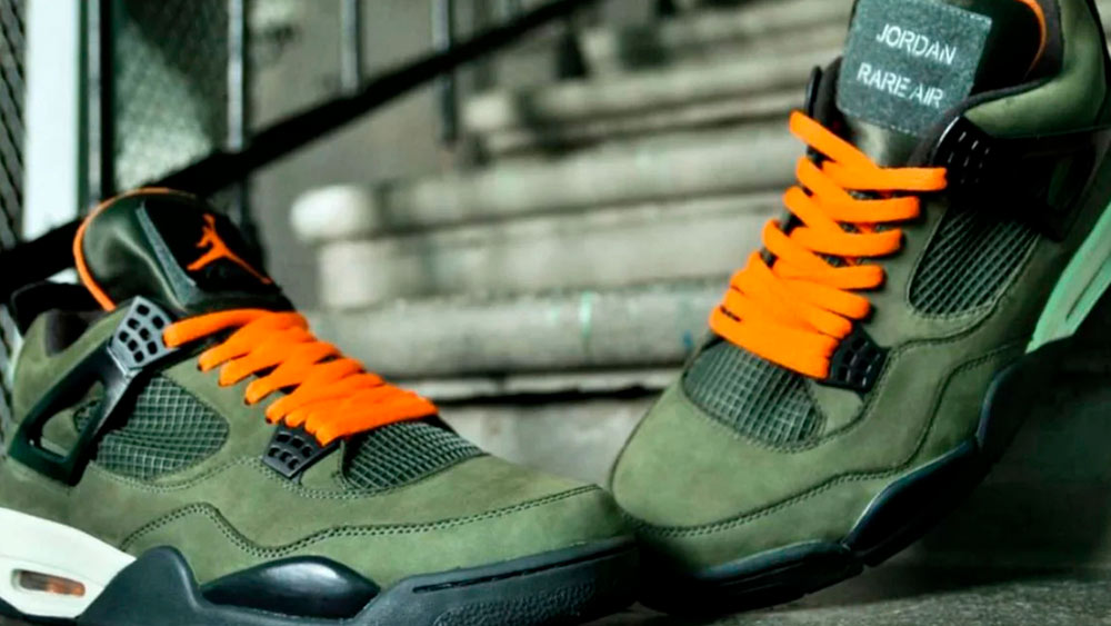 Undefeated Air Jordan IV