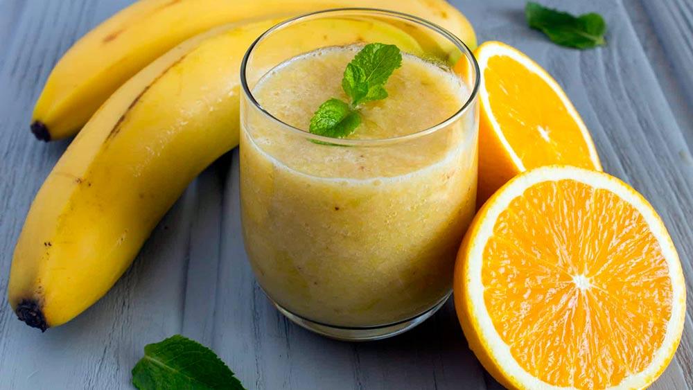 Банан для похудения лимон