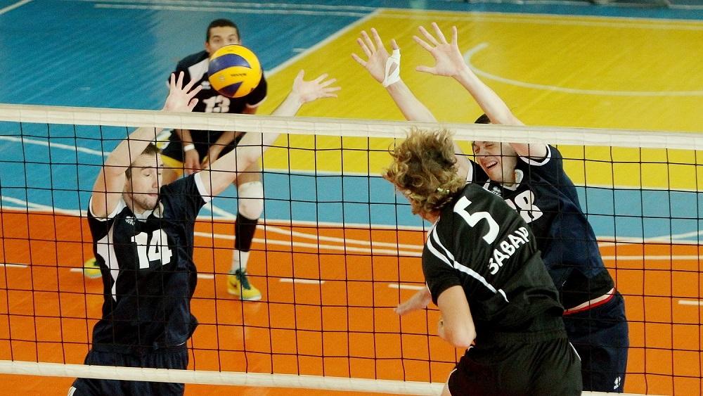 перекатывание мяча для волейболистов