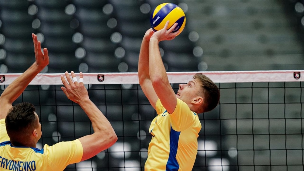 остановка мяча для волейболистов