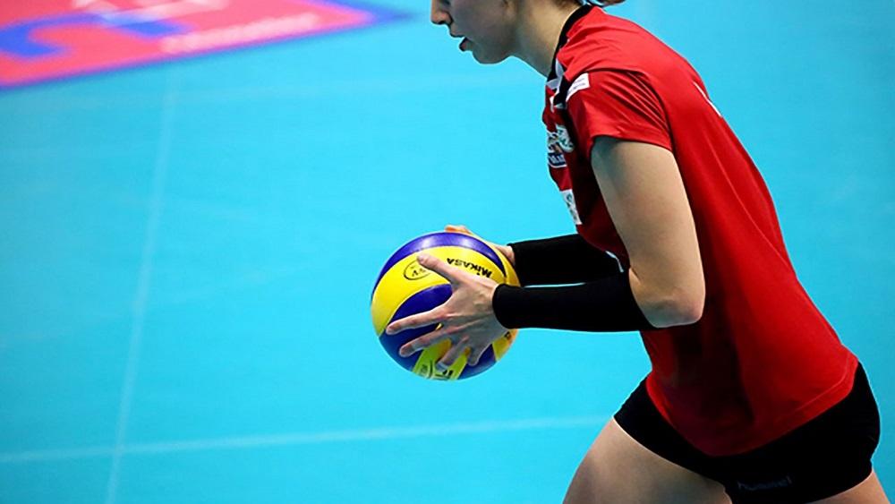 отскок мяча от пола для волейболистов