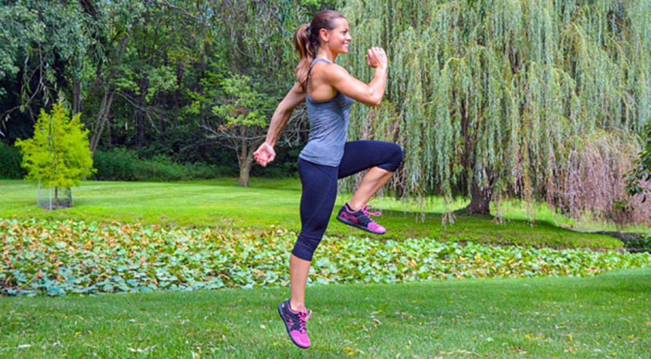Беговые упражнения для разминки