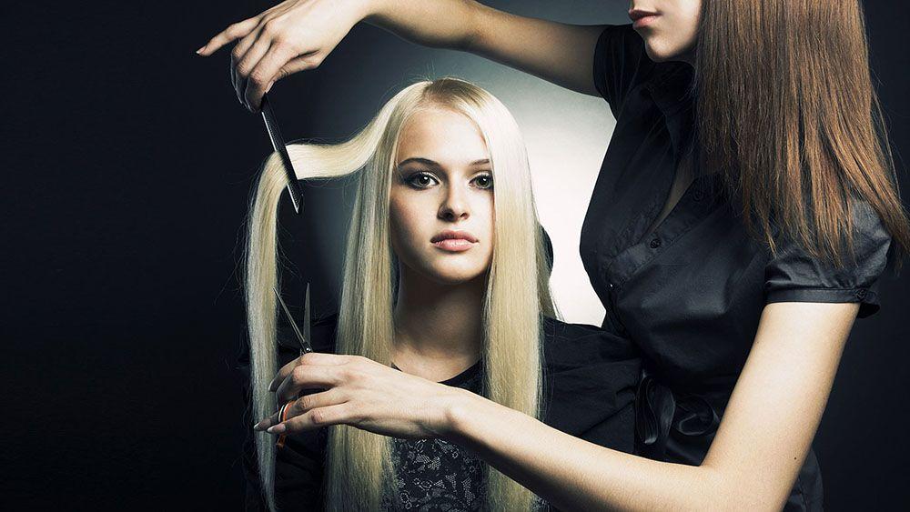 Картинки парикмахера и девушки