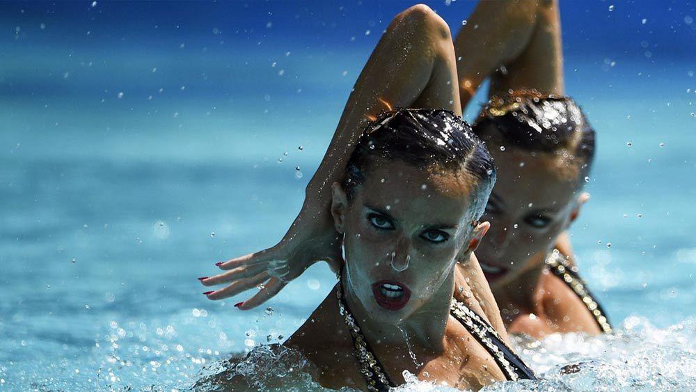 Олимпийские чемпионки по синхронному плаванию