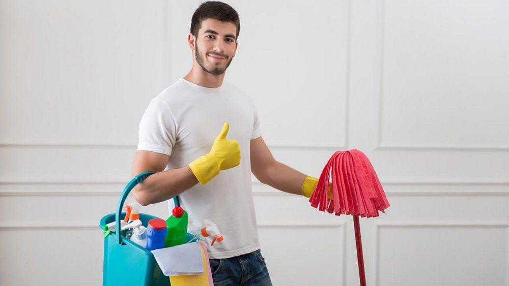 Картинка прикольная муж делает уборку