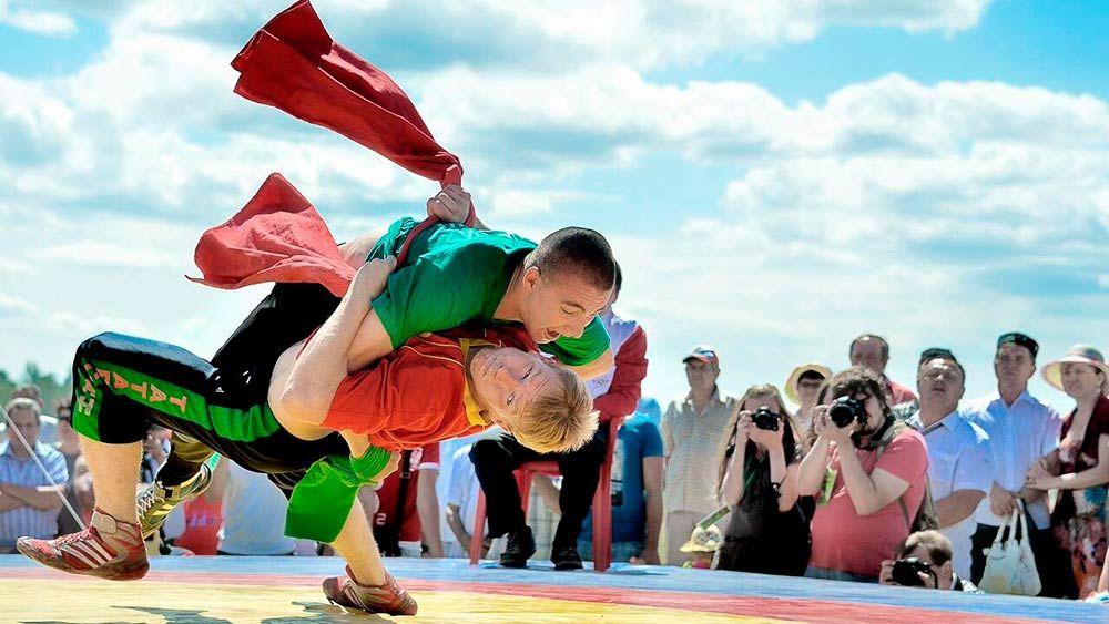 Все о национальной борьбе на поясах у татар