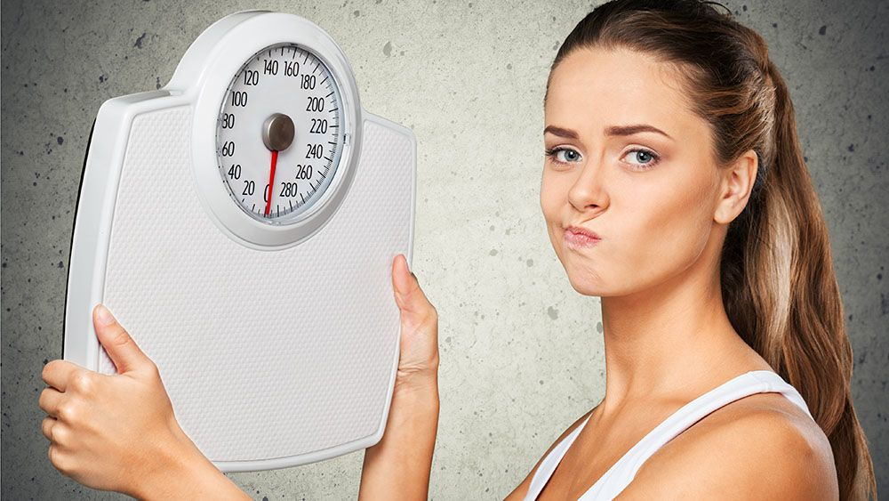 вес диета встал если