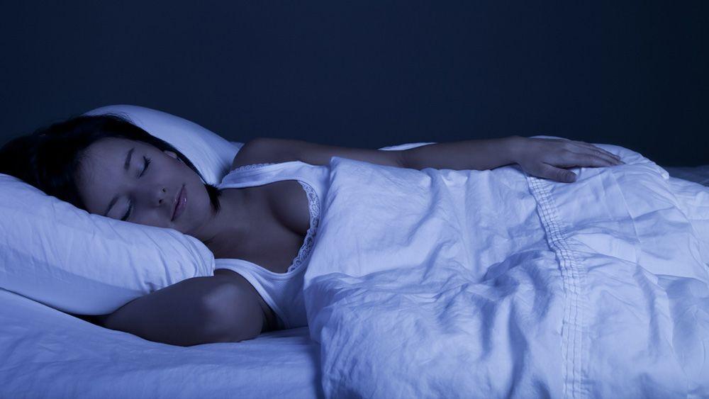 Похудеть во время сна ночью