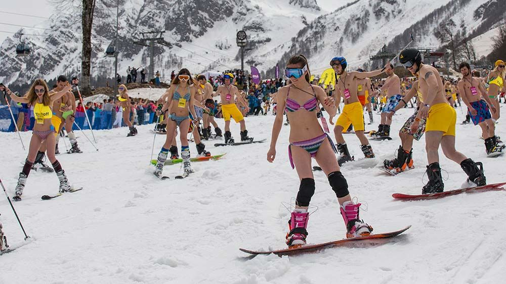 Горные лыжи в Сочи: популярные курорты и особенности туризма